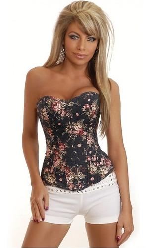 pronta entrega cinta modeladora espartilho corselet blusa