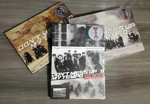 pronta entrega combo exo don't mess up my tempo 3 cds kpop