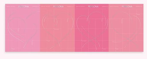 pronta entrega kpop álbum map of the soul: persona + pôster