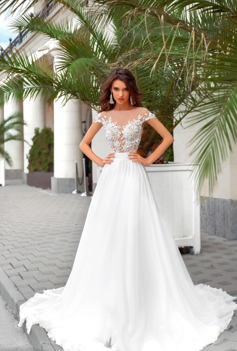 Vestido de noiva barato a pronta entrega