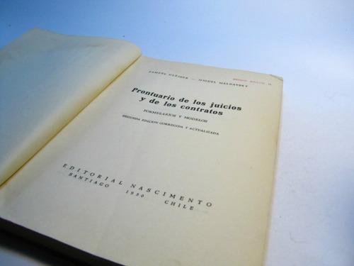 prontuario juicios y contratos. s gleiser m maldavsky