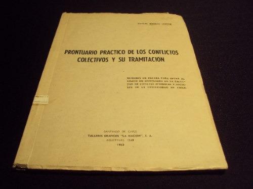 prontuario practico conflictos colectivos y tramitacion, r.