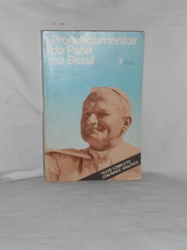 pronunciamentos do papa no brasil.en portugues