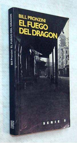 pronzini. el fuego del dragón. 1988. novela policial,