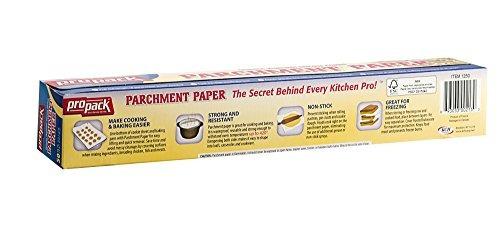propack non stick pergamino papel para hornear 12 x 50 paque