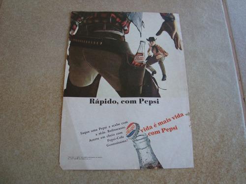 propaganda antiga bebida pepsi cola 1966 refrigerante coca 3