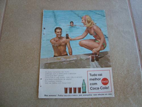propaganda antiga bebidas coca cola 1967 refrigerante 2