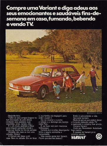 propaganda antiga da variant 1972