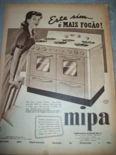 propaganda antiga fogão mipa