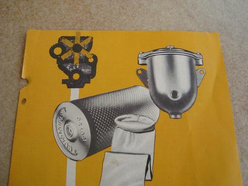 propaganda antiga motores cummins diesel 1960 ford gm