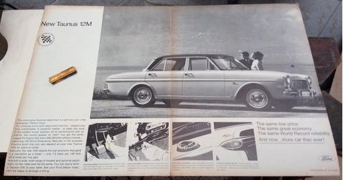propaganda de época ford taunus 12m 1965 frete gratis