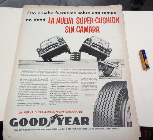 propaganda de época goodyear com dodge 1954 frete gratis