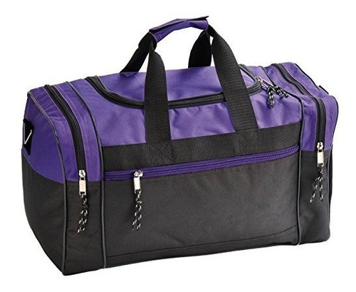 properequip 20 o 17 en blanco mochila de lona viajes deporte