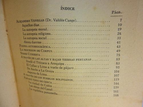 propias y extrañas tierras. valdes cange. 1922