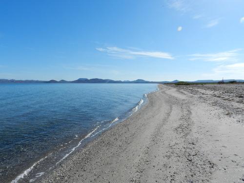 propiedad de mil  has. en loreto, bcs. con 3.8 kms de playa