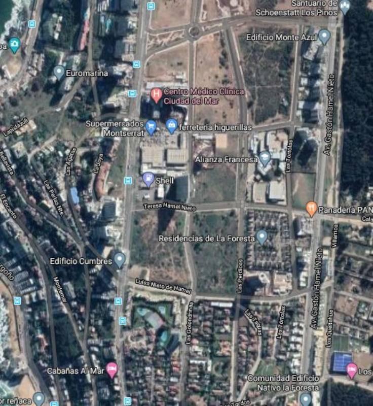 propiedad en arriendo local comercial reñaca 750 mt2