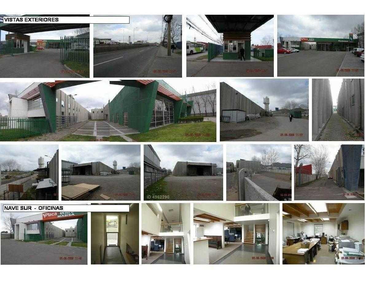 propiedad quilicura lo etchevers- galpón 3.700 m2 oficinas 370 m2 terreno total 14.500 m2