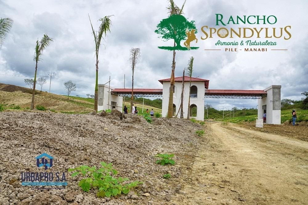 propiedad vacacional sobre la ruta del spondylus