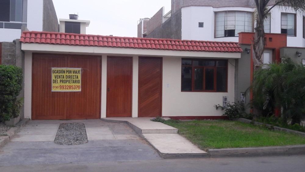 propietario vende amplia casa en brisas de villa, chorrillos
