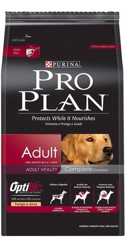 proplan adulto complete x 15 kg