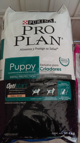 proplan criador cachorro 20.4kg envio gratis a todo el pais