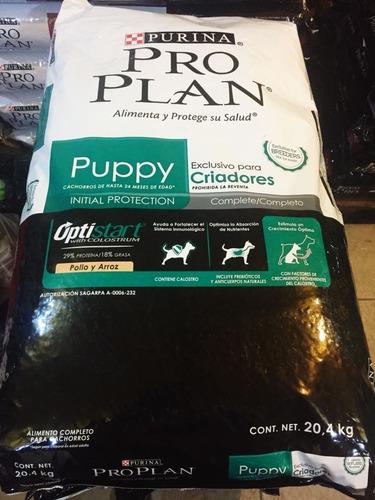 proplan puppy complete para criadores 20.4kg