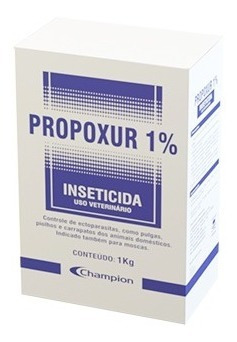 propoxur 1%   1 kg - champion saúde animal