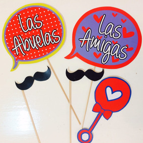 Props Carteles Frases X 20 Unidades Baby Shower Mellis