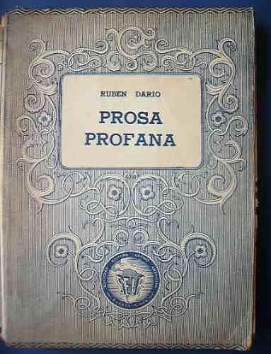 prosas profanas rubén darío ediciones selectas sela 1 edició