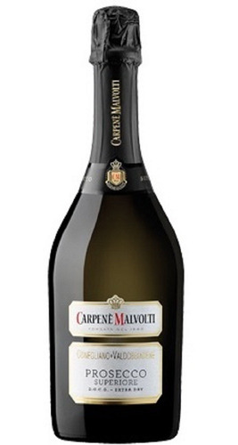 prosecco italiano extra dry carpene malvolti caja x 6 botell