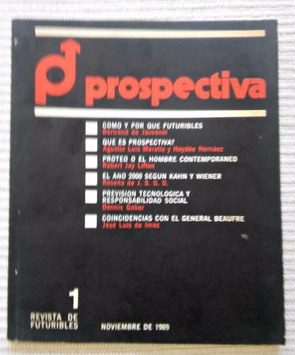 prospectiva n°1 revista de futuribles. muy raro