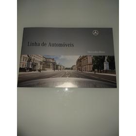 Prospecto Linha De Automóveis Mercedes Benz  2010