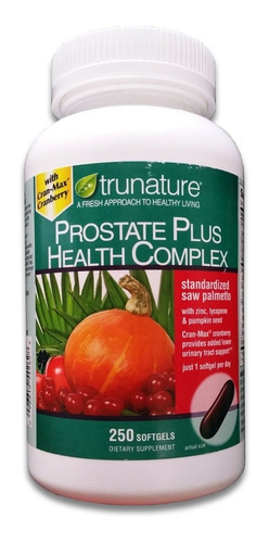 prostate health complex, saw palmetto, x 250 softgel