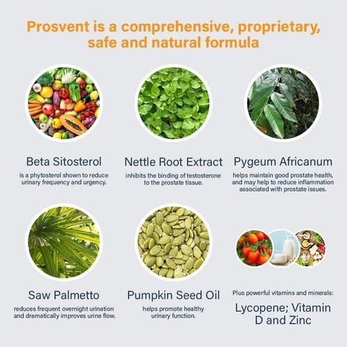 prosvent ultra blend prostata thera botanics  - 60 softgels