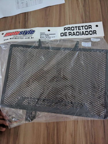 prote de radiador honda cb-600f; cbr-650f