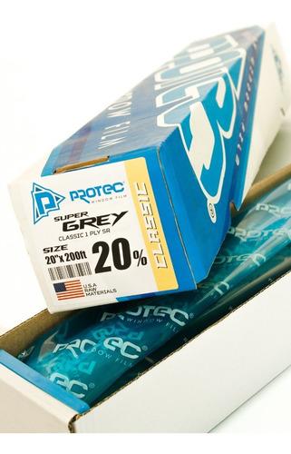 protec papel ahumado classic 20% intermedio 60mt x 50cm 1ply