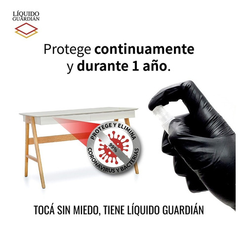 protección antivirus mesa escritorio auto liquid guard 30ml