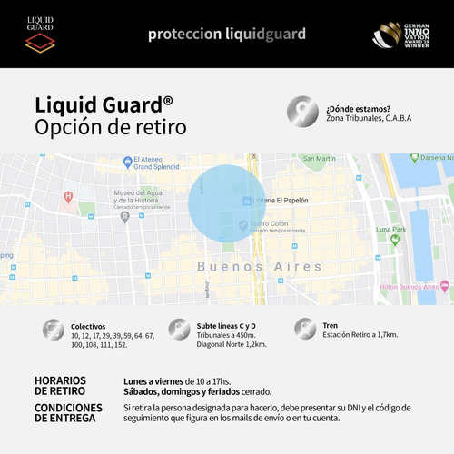 protección antivirus y bacterias liquid guard 10ml