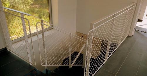 proteccion balcon ventana escalera red malla etc