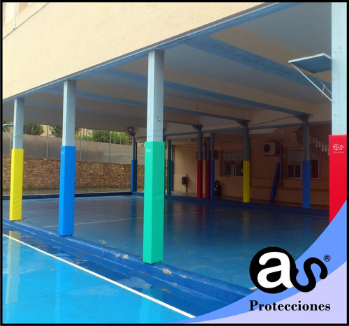 protección de columnas interior x m2.
