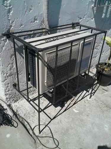 proteccion de reja para aire acondicionado