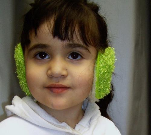 protección frio orejeras infantil viento nieve montaña