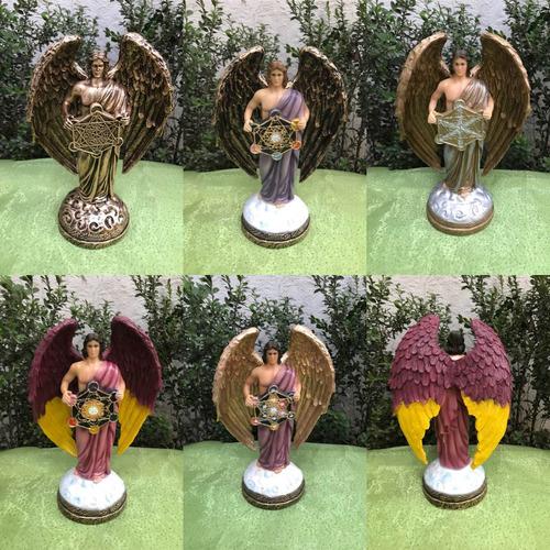 protección hogar y negocios arcangel metatron 28 cm resina