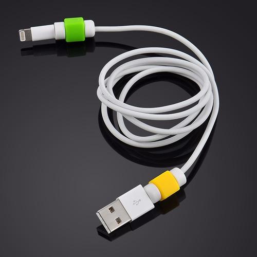 protección para cables, cargadores 10 unidades