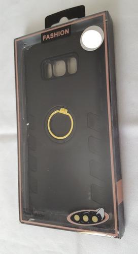 protección uso rudo galaxy s8. con imán y anillo.