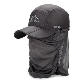 Protección Uv Al Aire Libre Sombrero De Sol Plegable Pesca