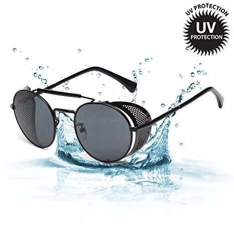 67520aeb51 Protección Uv Gafas De Sol Frescas Protector Lateral De Stea ...