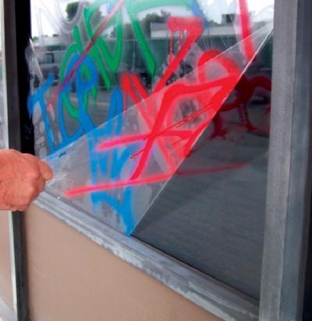 protección vidrios y ventanas film de seguridad 3,5m x 1,5m