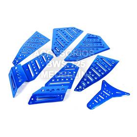 Protecciones De Piso Para Bws 125 - Bws X Aluminio Cnc $ 45