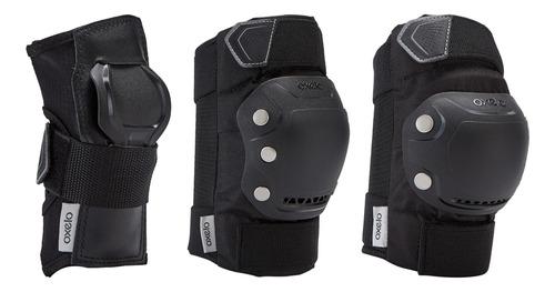 protecciones patinaje patiente skateboard oxelo fit500